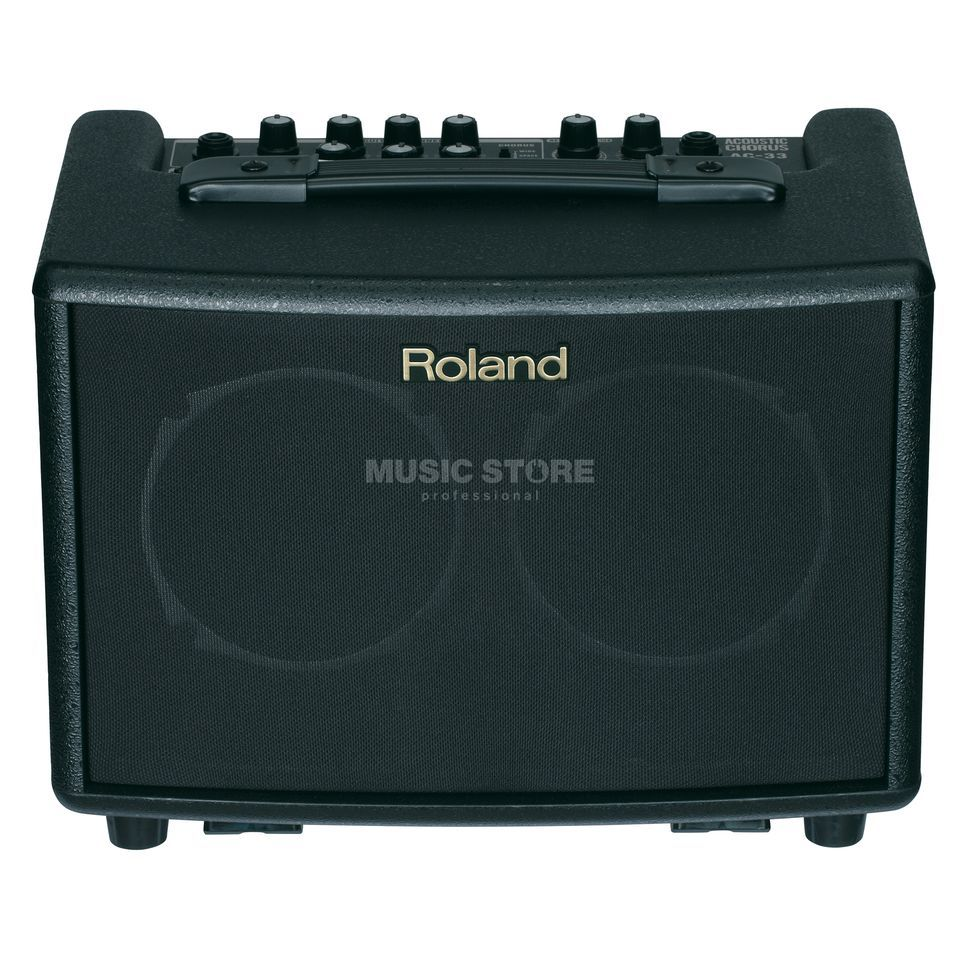 Roland AC-33 Stereo Battery Acoustic Amp Produktbild