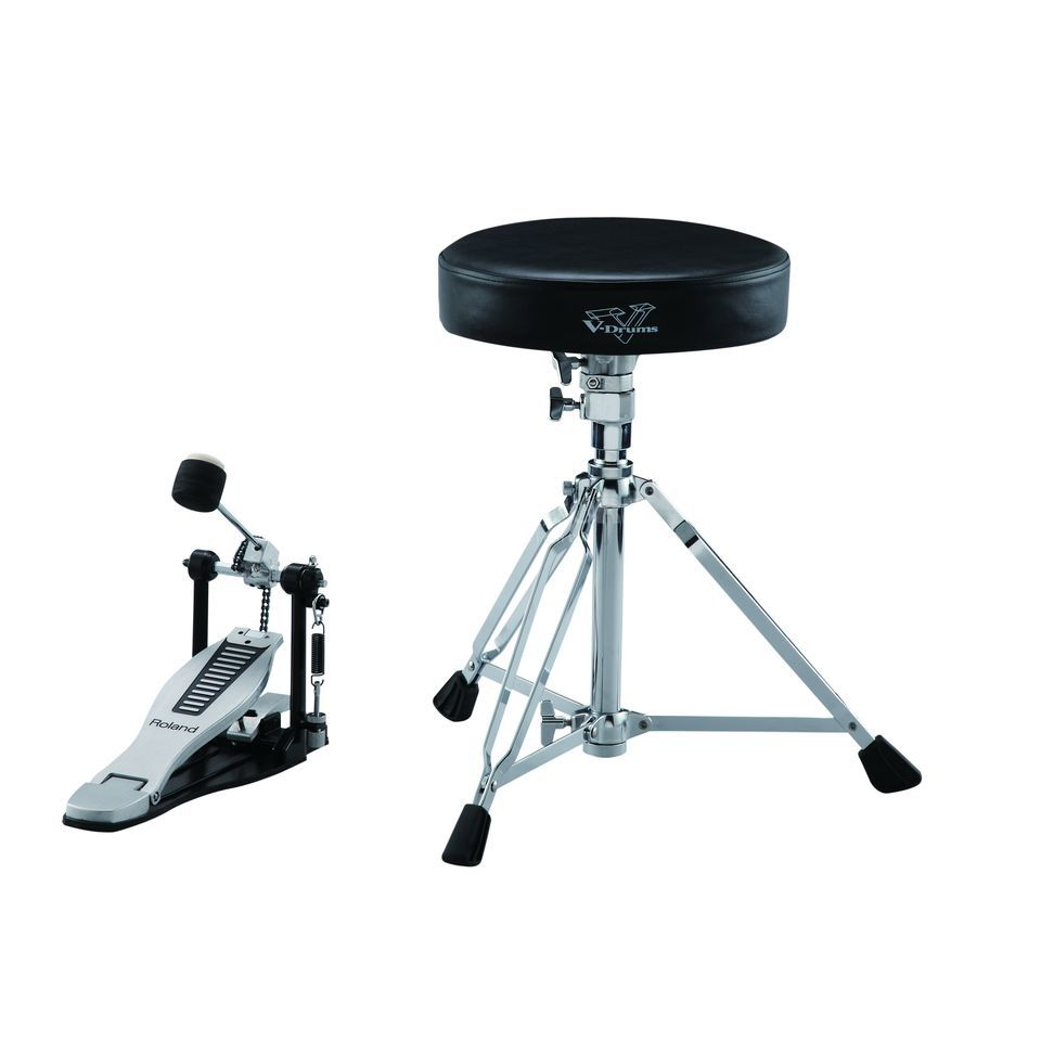 Roland DAP-3X Drum Accessorie Kit, Pedal, Throne, Sticks Produktbillede
