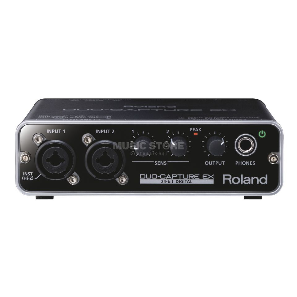 Roland Duo-Capture Ex USB Audio Interface Produktbillede