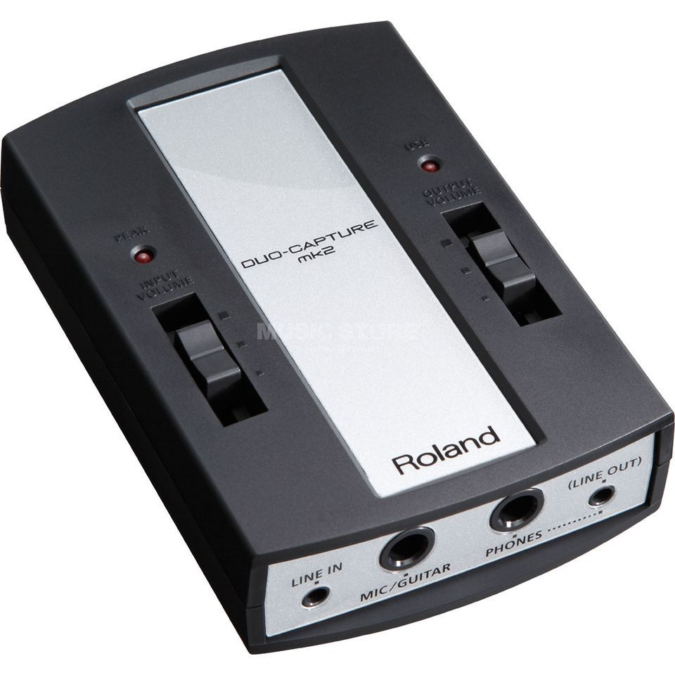 Roland DUO-CAPTURE MK2 (UA-11-MK2) USB Audio Interface Produktbild