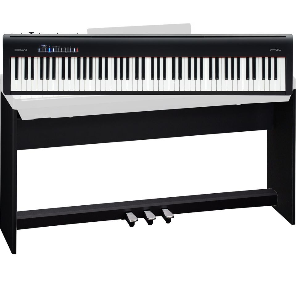 Roland Fp 30 Bk Home Set Music Store Professional En Oe