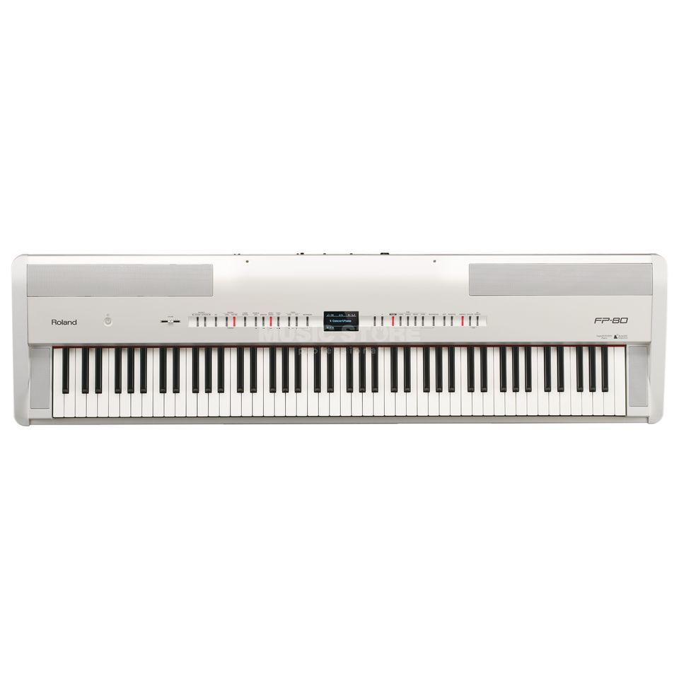 Roland FP-80 WH Stage Piano Weiss Produktbild