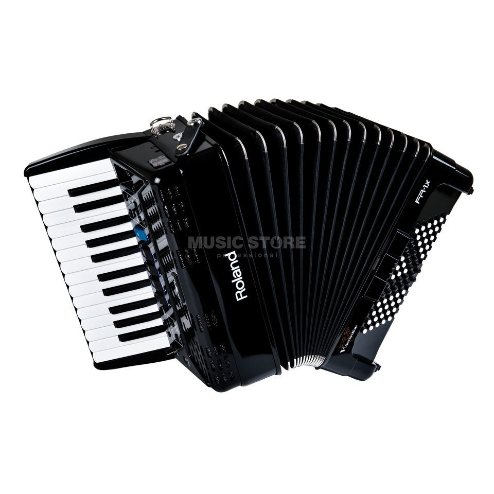 Roland FR-1X Piano-Type V-Accordion Black   Produktbillede