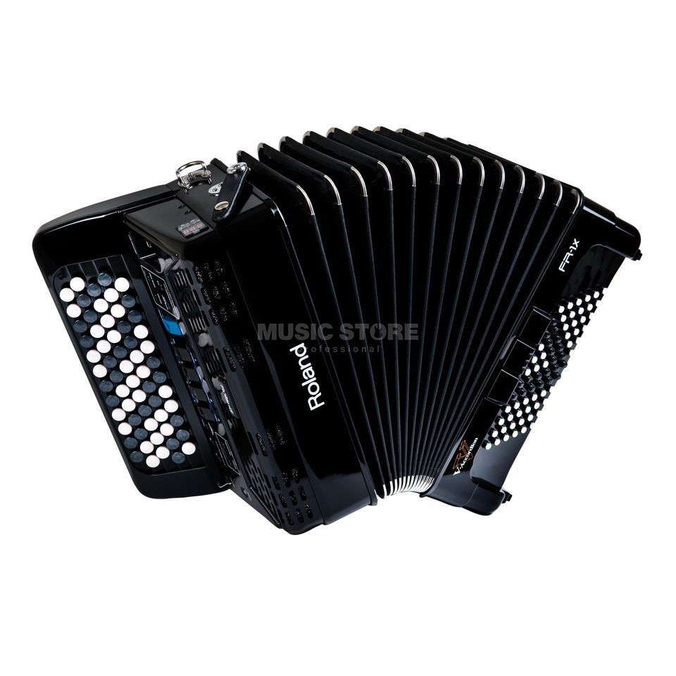 Roland FR-1XB Button-Type V-Accordion Black Produktbillede
