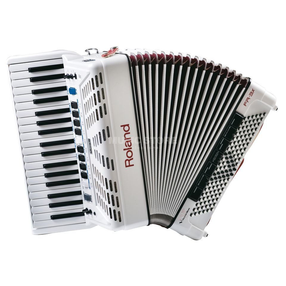 Roland FR-3X WH V-Accordion Piano white Produktbillede