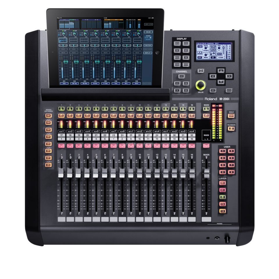 Roland M-200i V-Mixer 32 Channel Digital Mixer Produktbillede