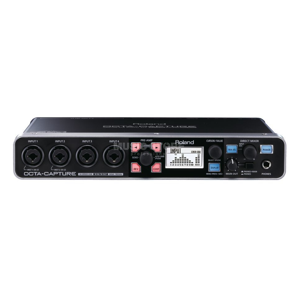Roland Octa-Capture USB Audio Interface Produktbillede
