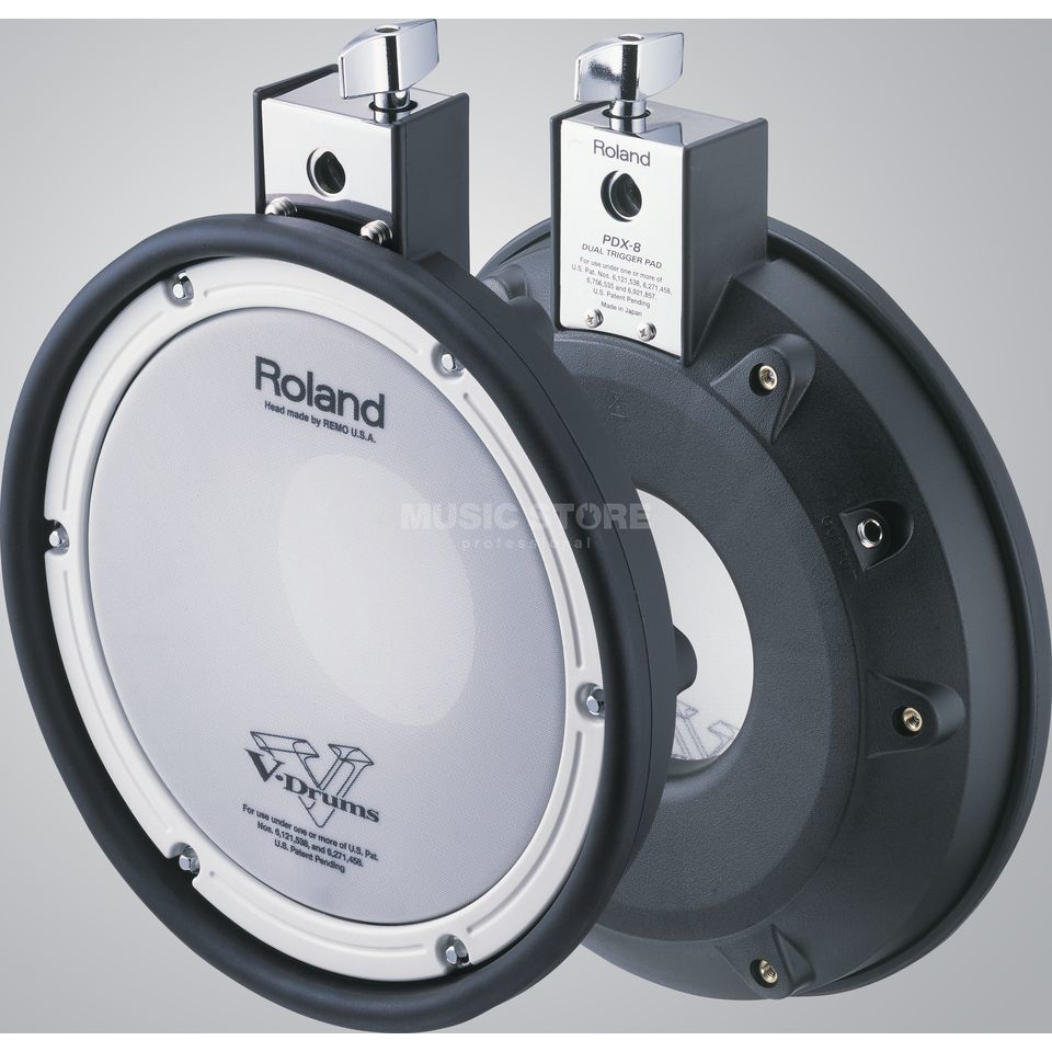 "Roland PDX-8 Stereo Snare Pad, 10""  Product Image"