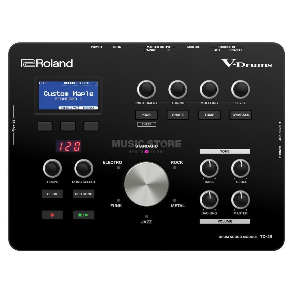 Roland TD-25 Sound Module Product Image