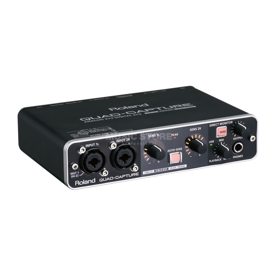 Roland UA-55 Quad-Capture USB Audio Interface Produktbillede