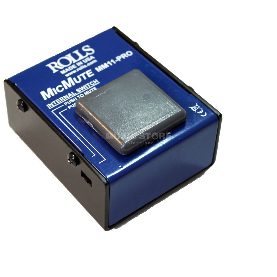 Rolls MM11 Pro MicMute/MicTalk-Switch Produktbillede