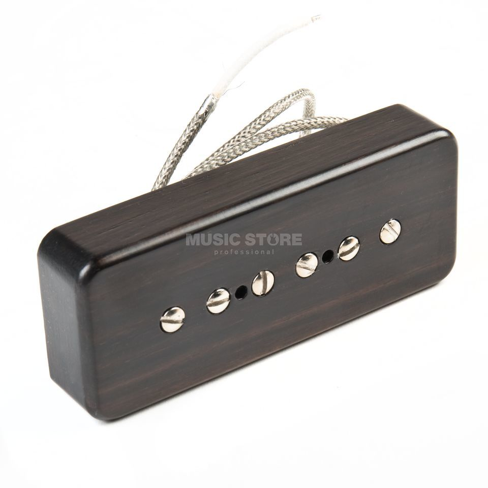 Roswell Pickups P90 Soapbar Neck Ebony Cover Product Image