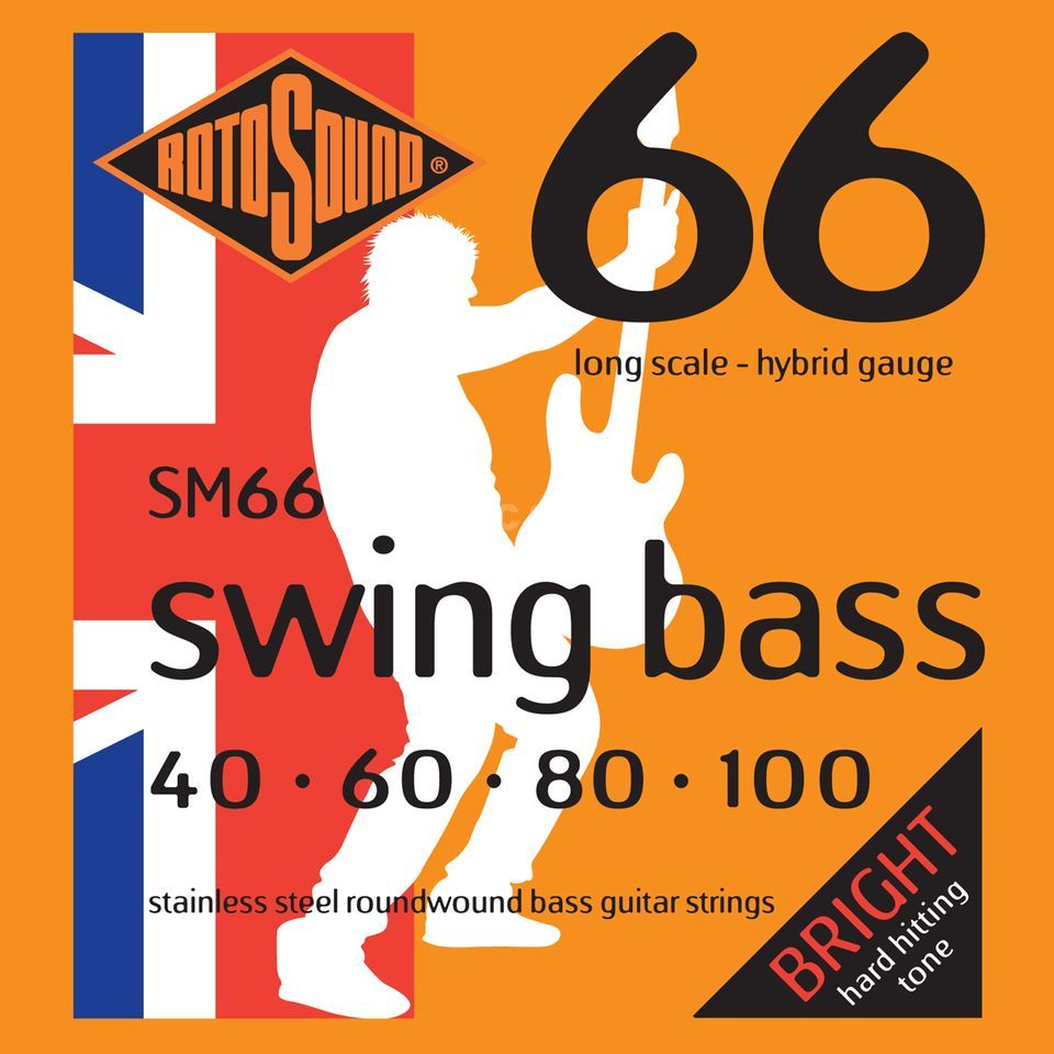 Rotosound SM66 Bass Strings 40-100  Product Image