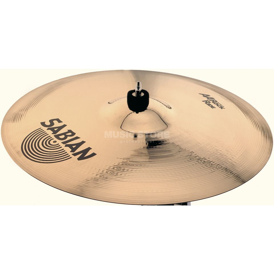 "Sabian AA Rock Ride 21"" Brilliant Finish Product Image"