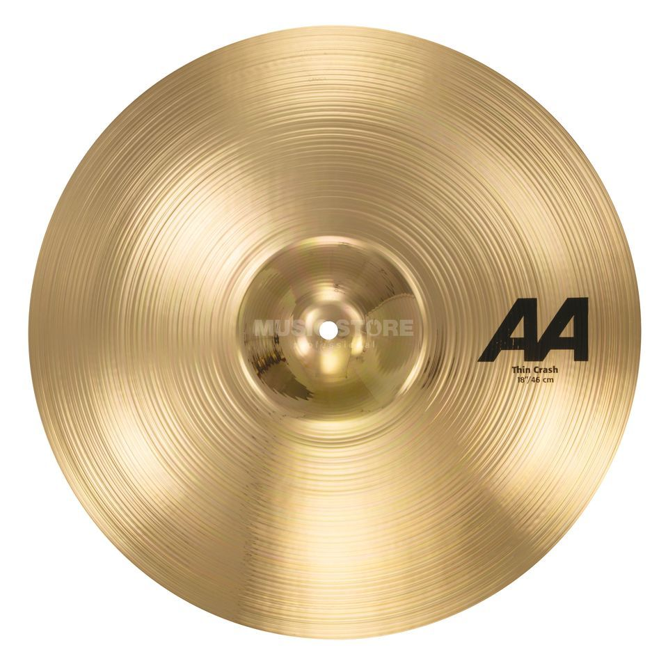 "Sabian AA Thin Crash 18"" Brilliant Finish Produktbild"