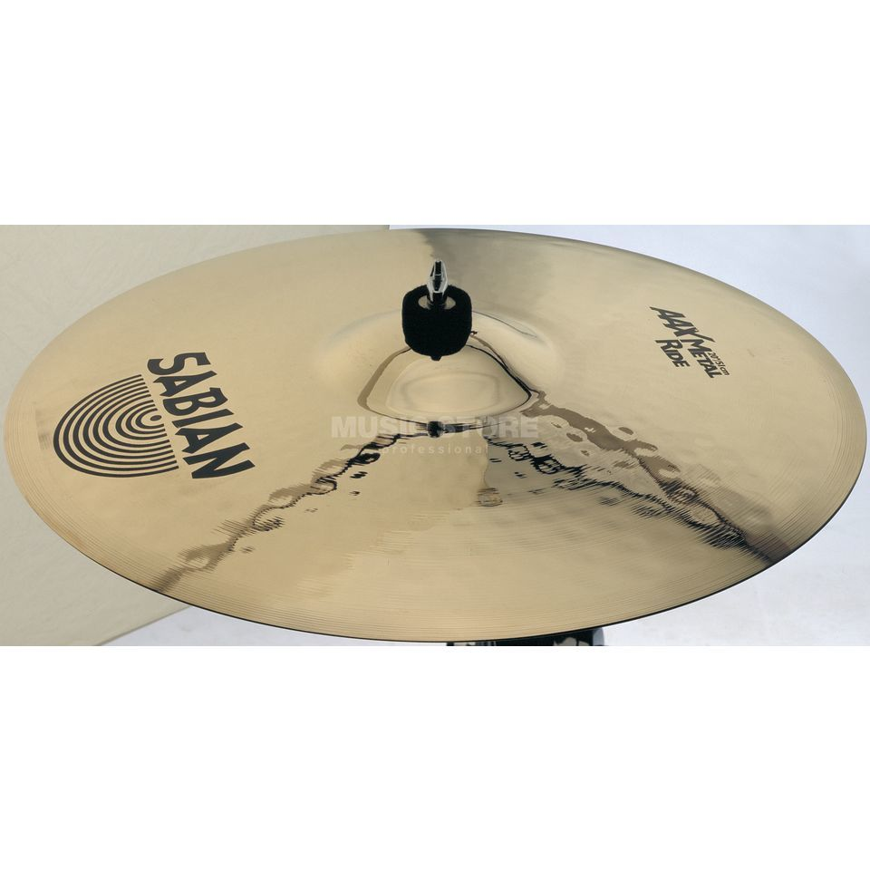 "Sabian AAX Metal Ride 22"" Brilliant Finish Immagine prodotto"