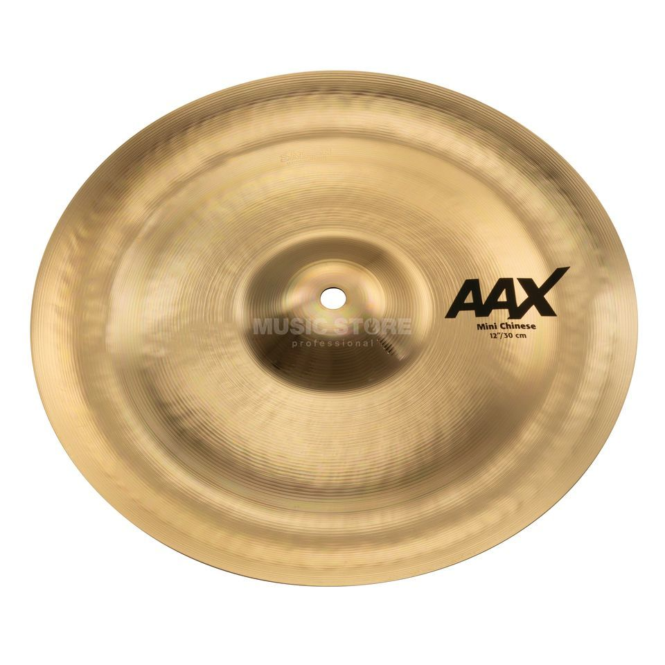 "Sabian AAX Mini China 12"" Brilliant Finish Imagem do produto"