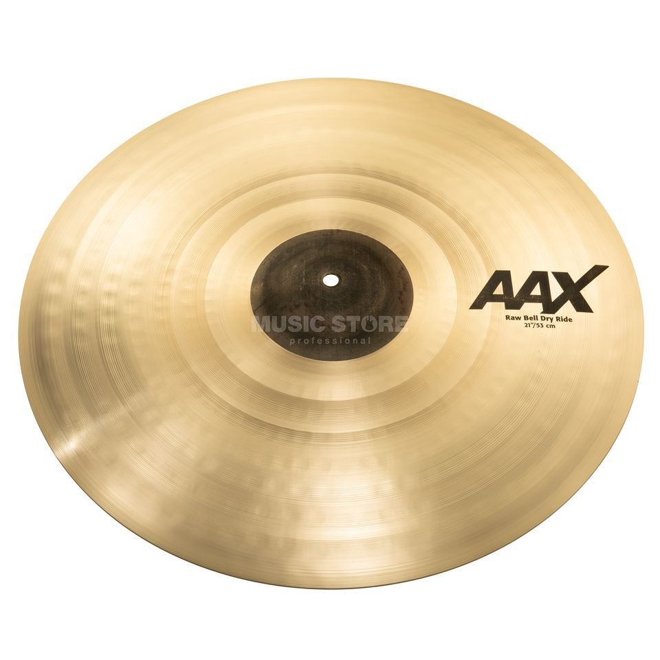 "Sabian AAX Raw Bell Dry Ride 21"" natural Productafbeelding"