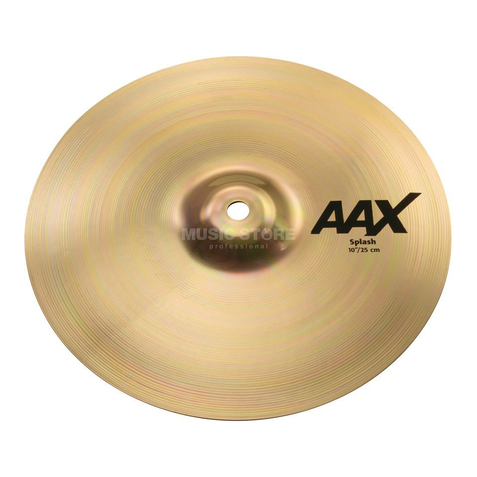 "Sabian AAX Splash 10"" Brilliant Finish Product Image"