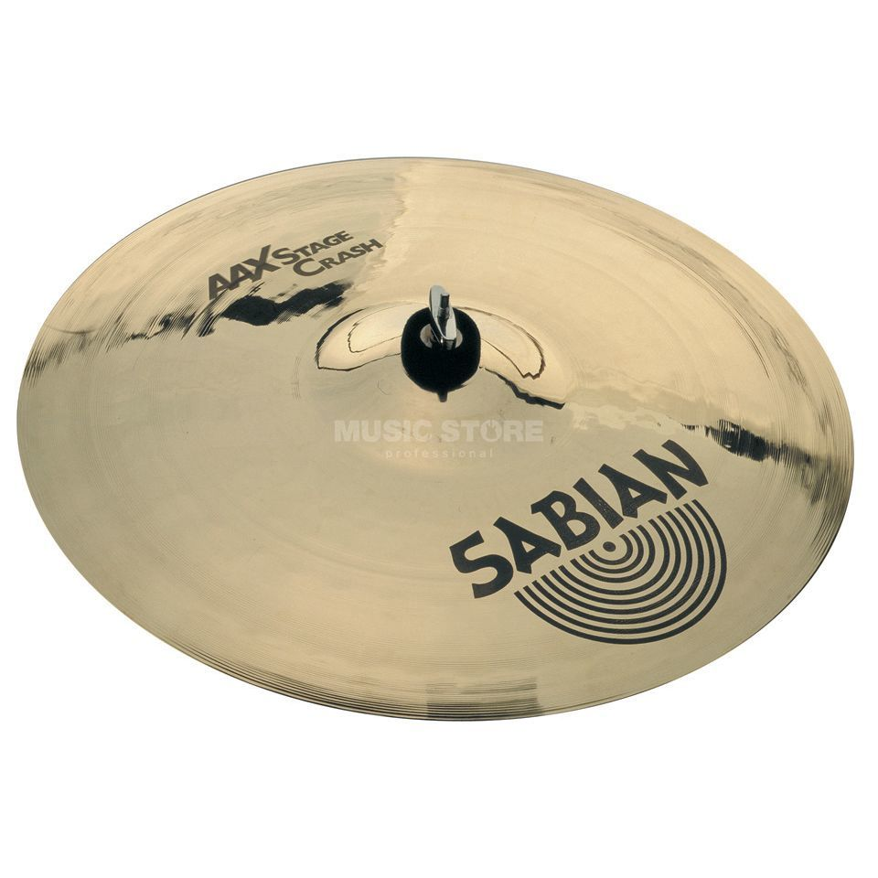 "Sabian AAX Stage Crash 16"", finition brillante Image du produit"