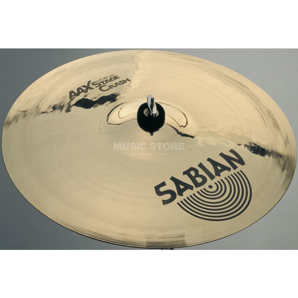 "Sabian AAX Stage Crash 17"" Brilliant Finish Produktbillede"