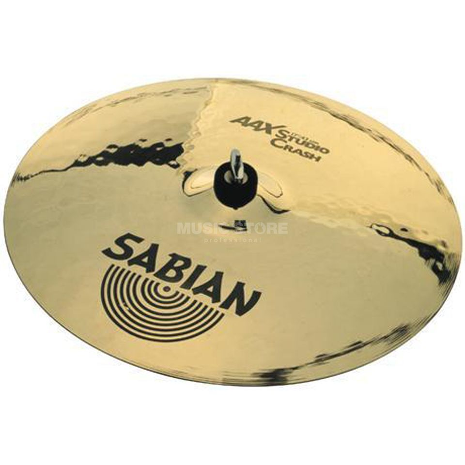 "Sabian AAX Studio Crash 18"", finition brillante Image du produit"