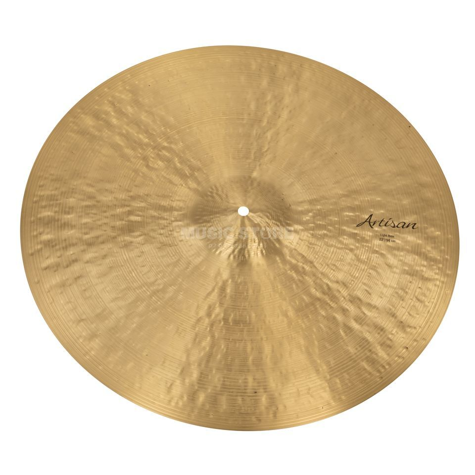"Sabian Artisan Light Ride 22"", Natural Finish Produktbillede"