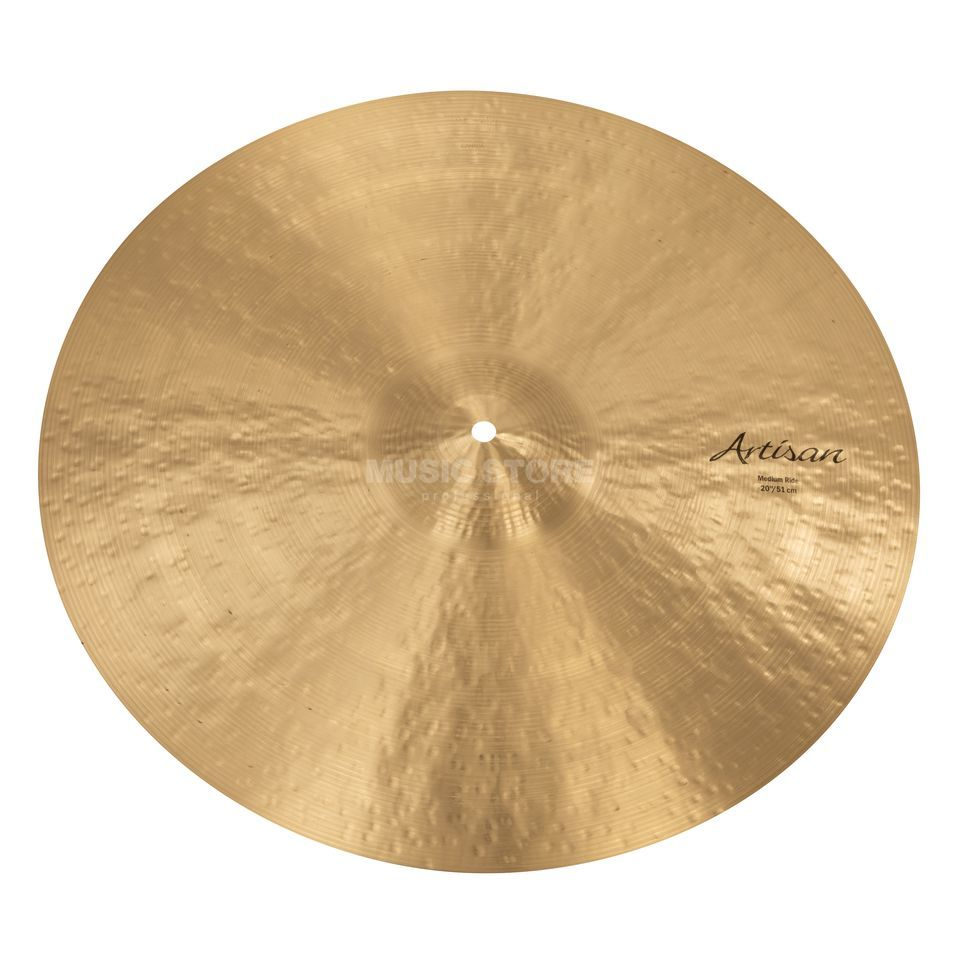 "Sabian Artisan Medium Ride 20"", Natural Finish Produktbillede"