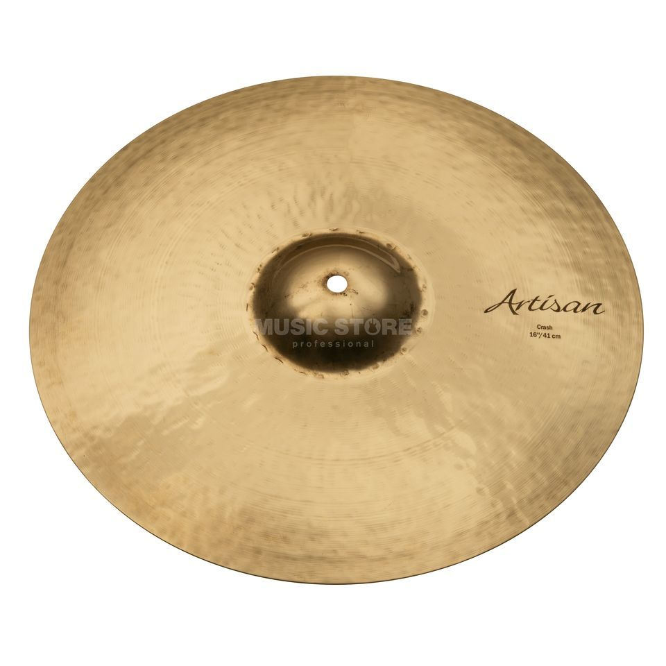 "Sabian Artisan Thin Crash 16"", Brilliant Finish Produktbillede"