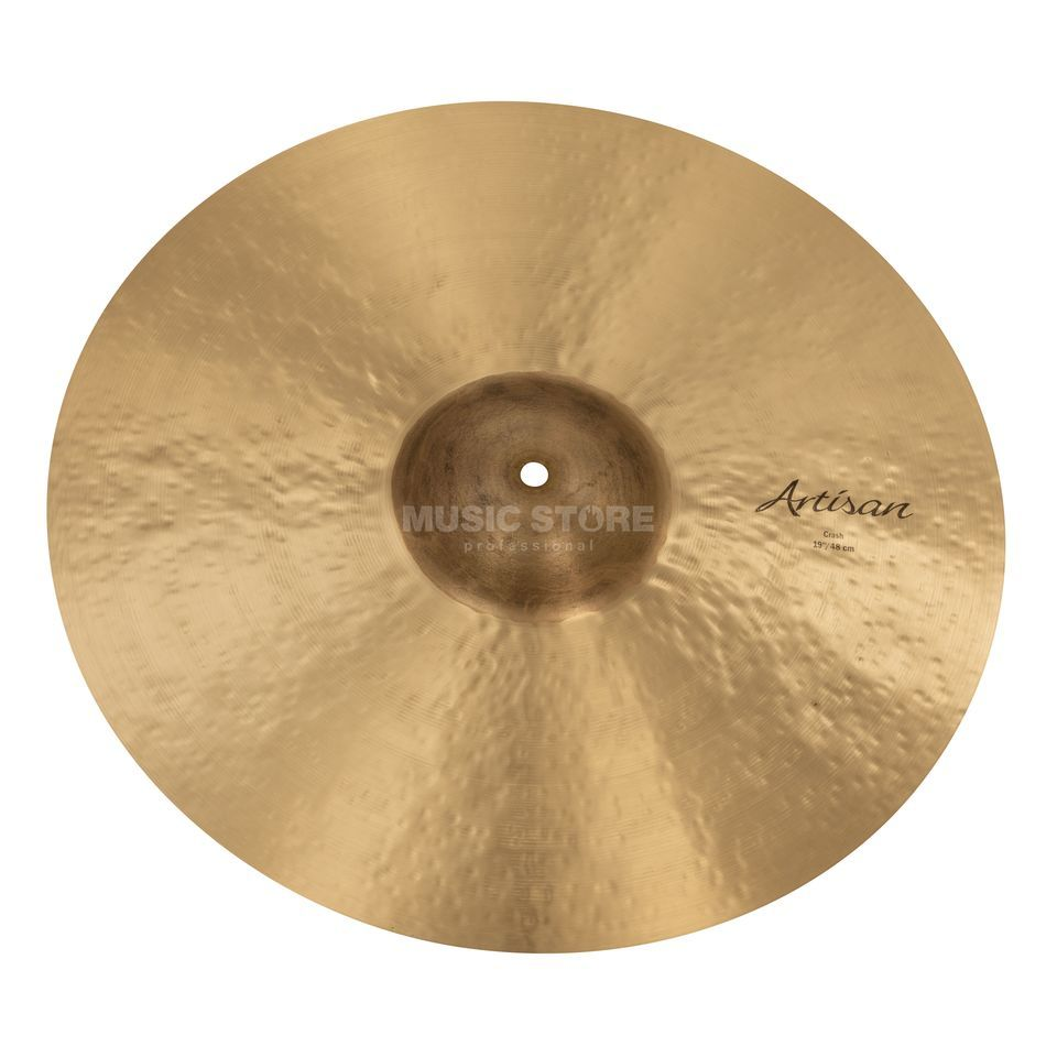 "Sabian Artisan Thin Crash 19"", Natural Finish Produktbillede"