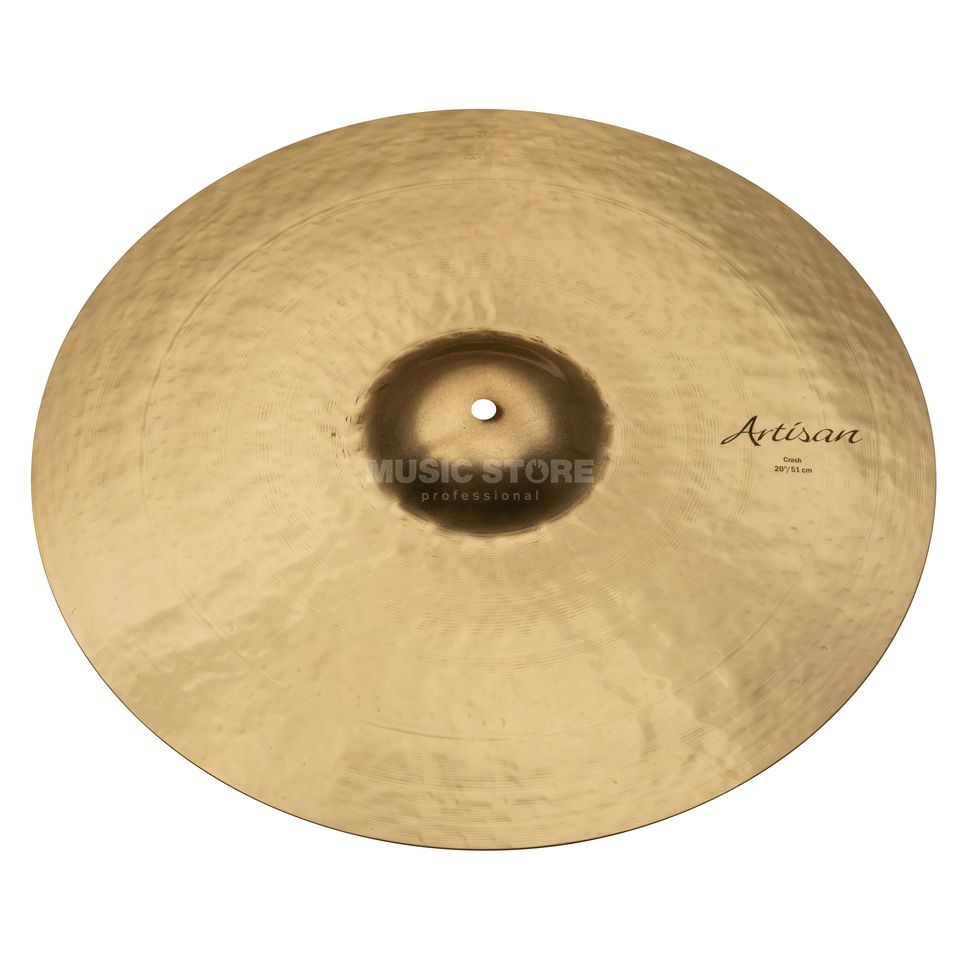 "Sabian Artisan Thin Crash 20"", Brilliant Finish Imagem do produto"