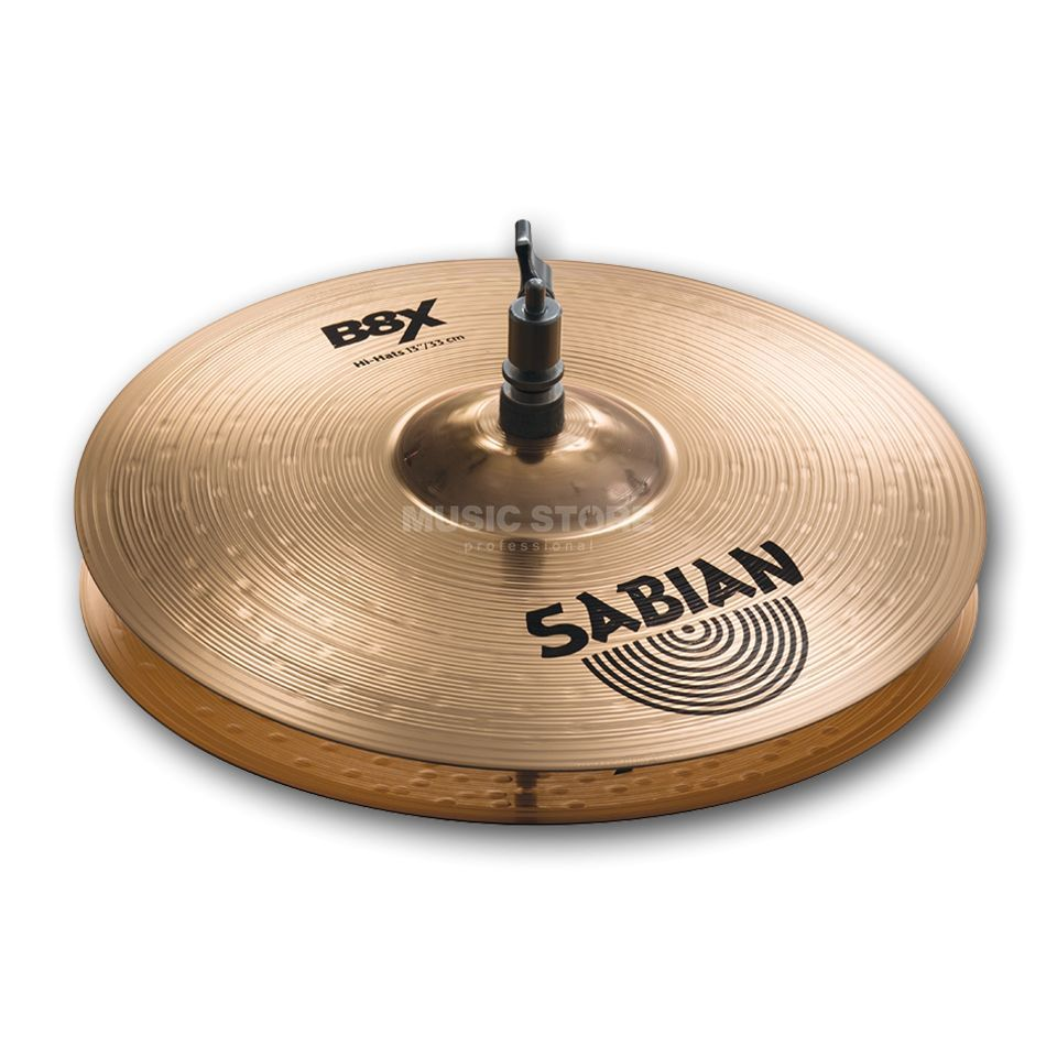 "Sabian B8X Medium HiHat 13"", Natural Produktbillede"