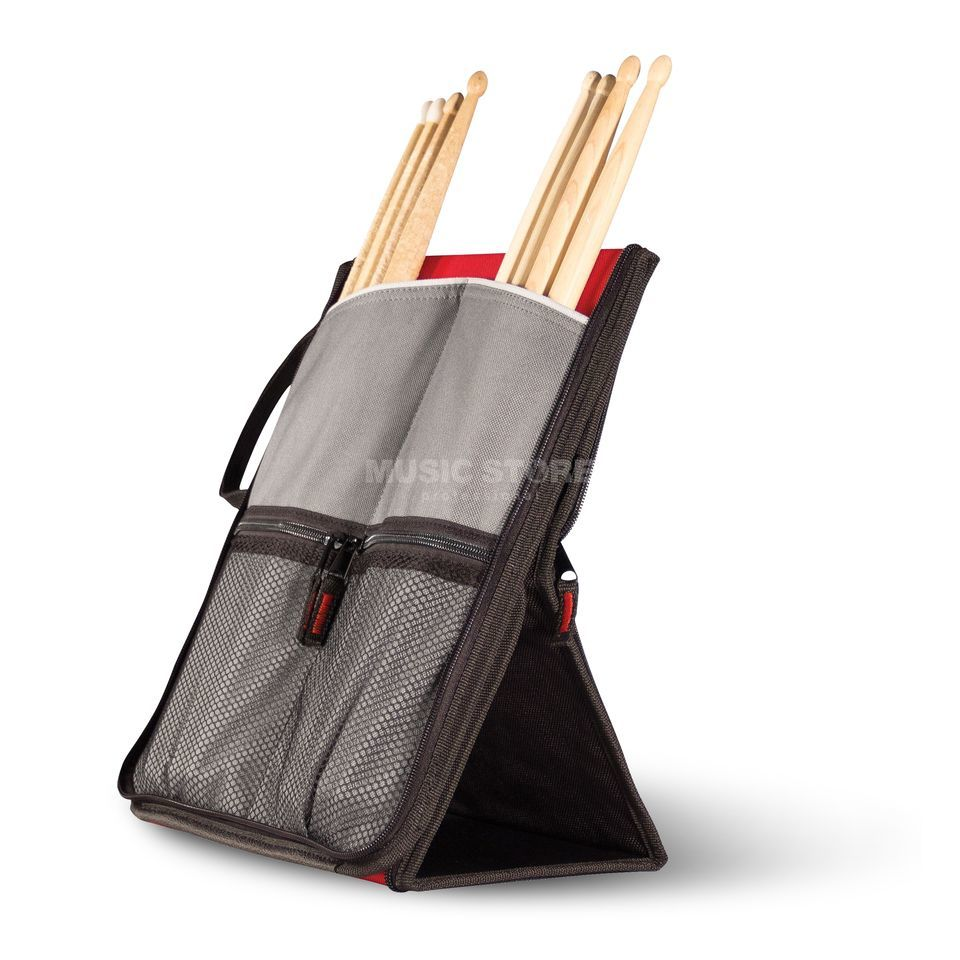 Sabian Flip Stick Bag - Black Red Produktbillede