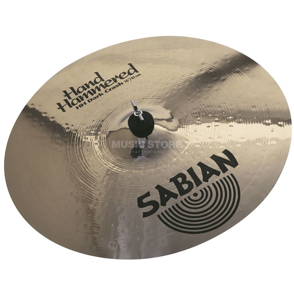 "Sabian HH Dark Crash 16"" Brilliant, B-Stock Product Image"