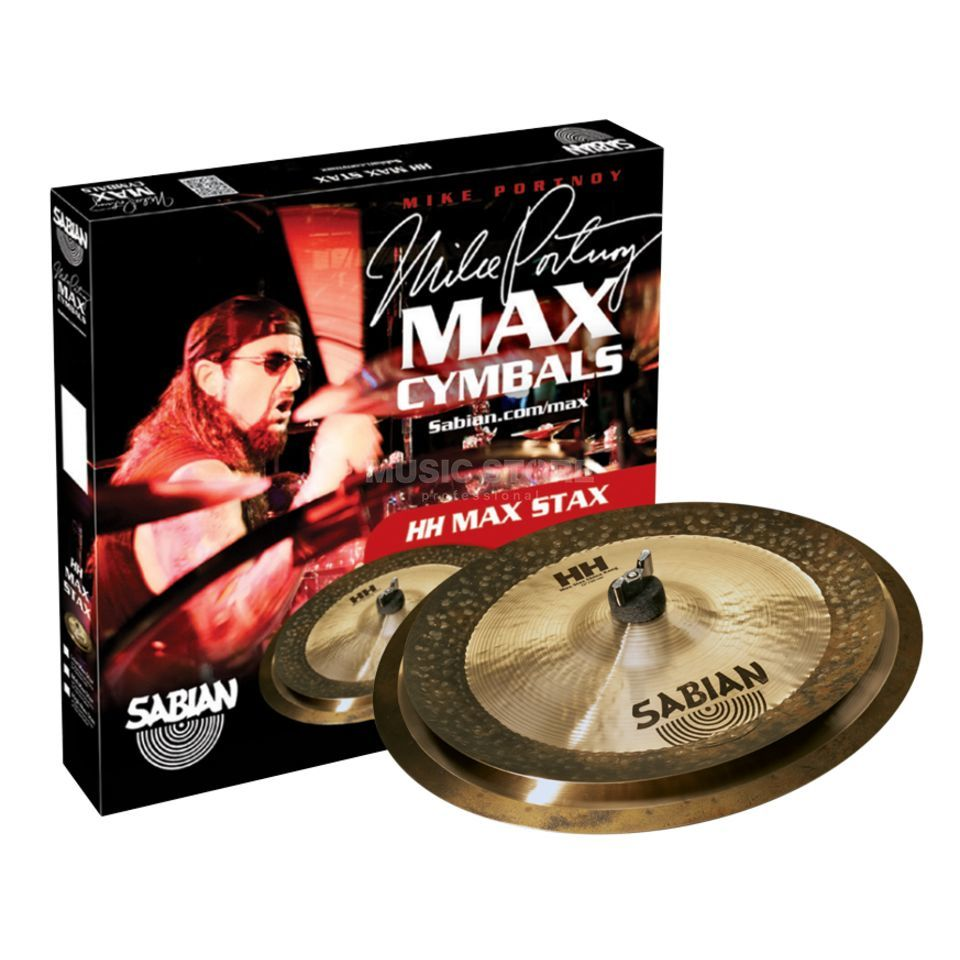 "Sabian HH Max Stax Low, Mike Portnoy 14"" Crash, 12"" China Kang Produktbild"