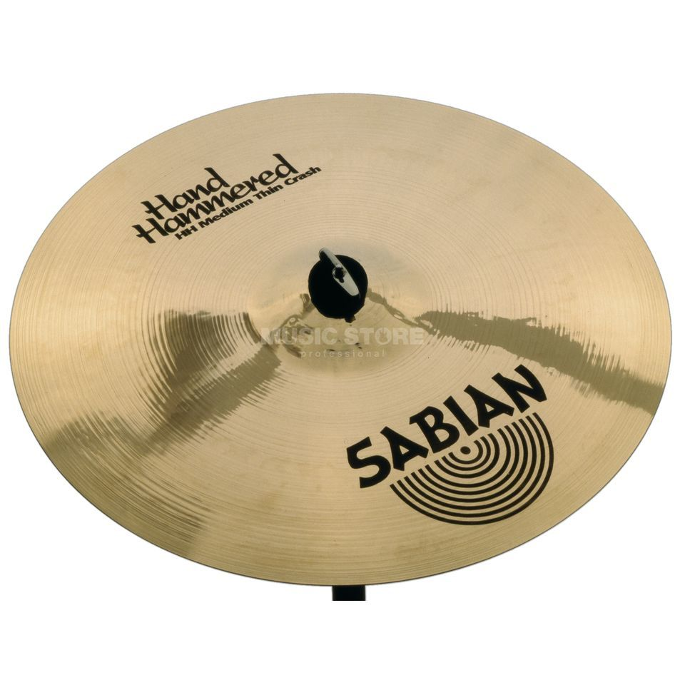 "Sabian HH Medium Thin Crash 18"" Brilliant Produktbillede"
