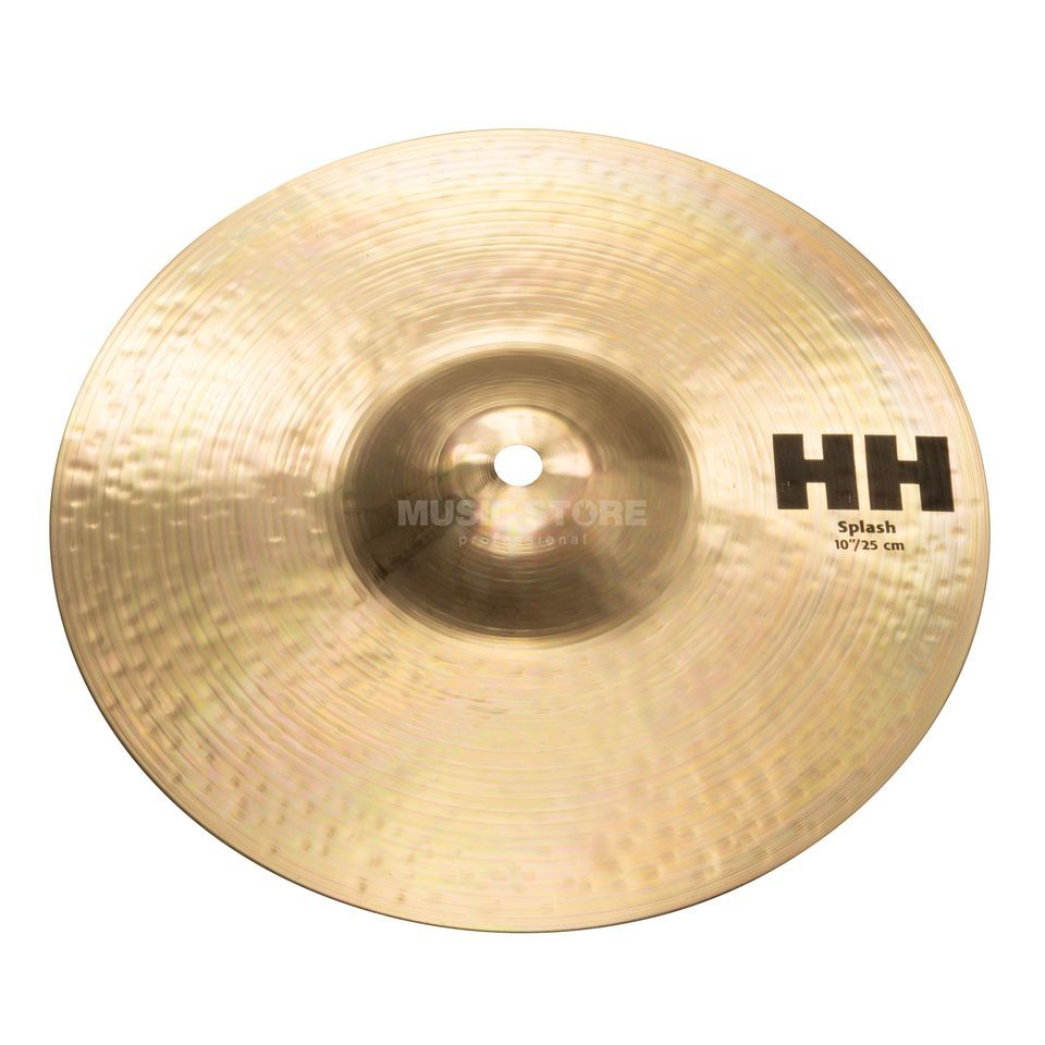 "Sabian HH Splash 10"" Brilliant Productafbeelding"