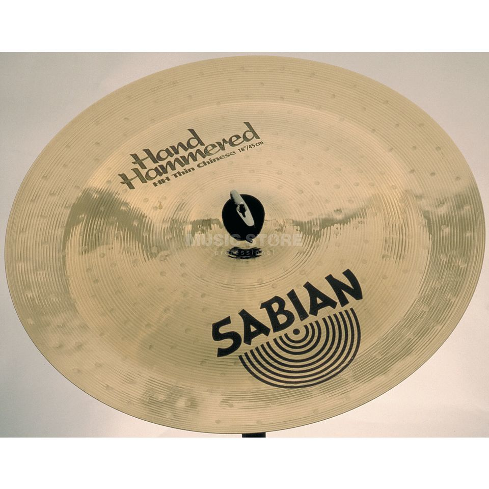 "Sabian HH Thin China 18"" Brillant Image du produit"