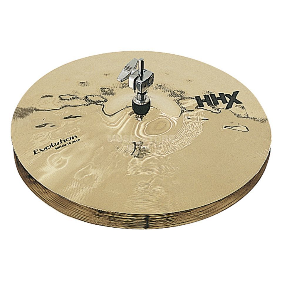 "Sabian HHX Evolution HiHat 14"" Brilliant Produktbild"