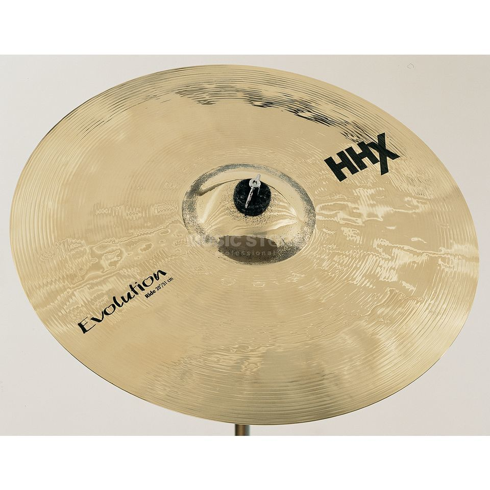 "Sabian HHX Evolution Ride 20"" Brilliant Product Image"