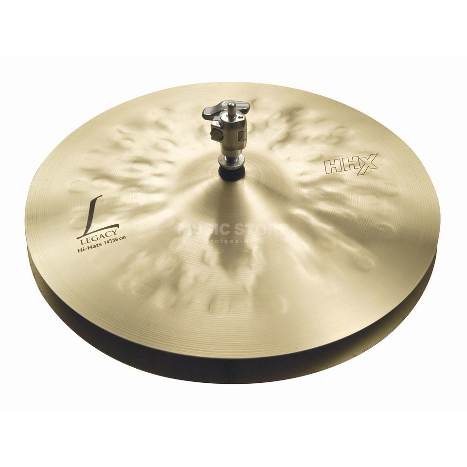 "Sabian HHX Legacy HiHat 14"" Natural Finish Productafbeelding"