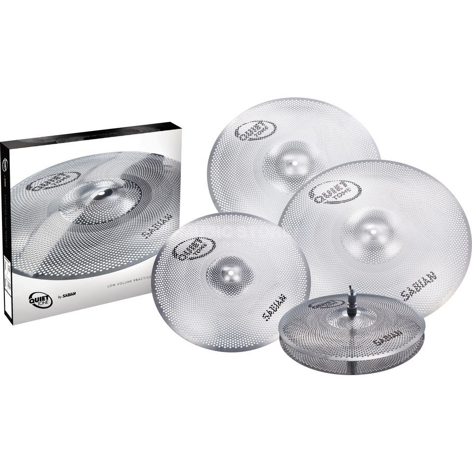 Sabian Quiet Tone Set QTP504 Product Image