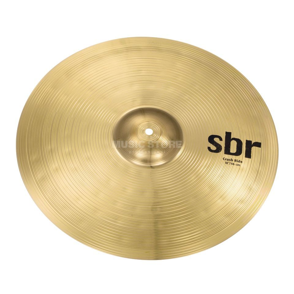 "Sabian sbr Crash-Ride 18""  Produktbillede"