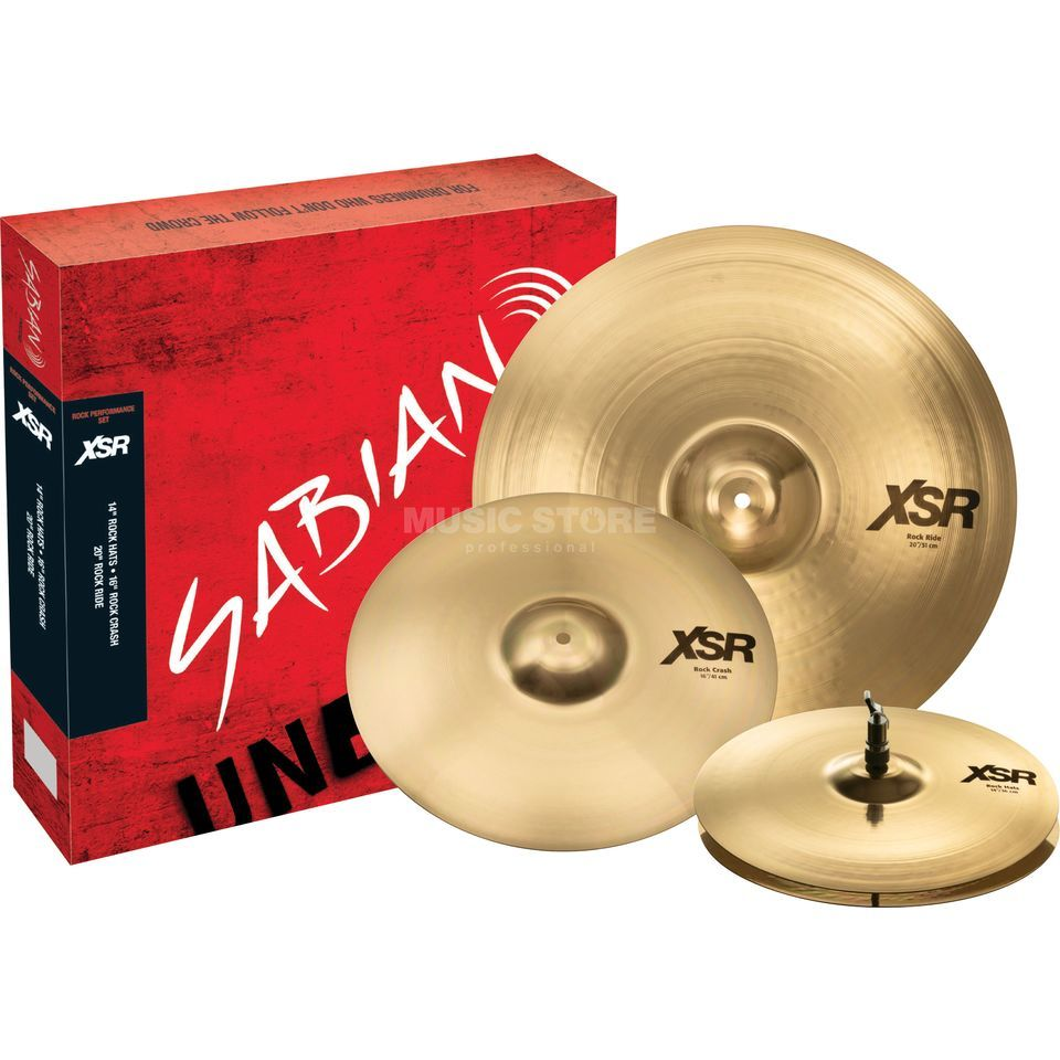 Sabian XSR Rock Performance Set Product Image