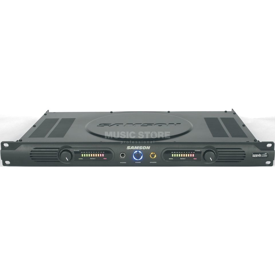 Samson Servo 120A Power Amplifier    Produktbillede