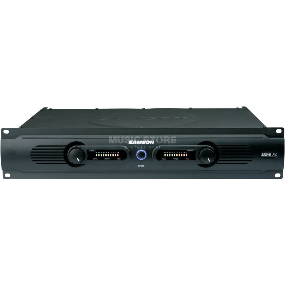 Samson Servo 200 Power Amplifier    Produktbillede