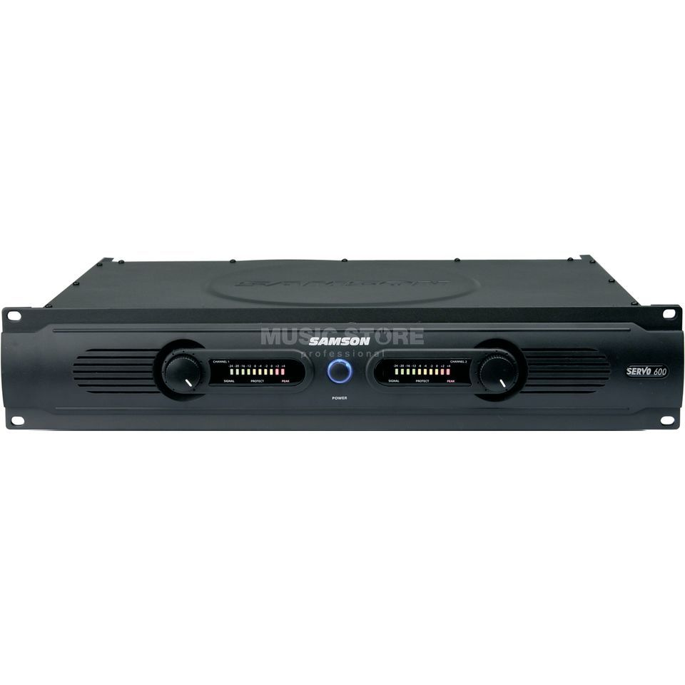 Samson Servo 600 Power Amplifier    Produktbillede