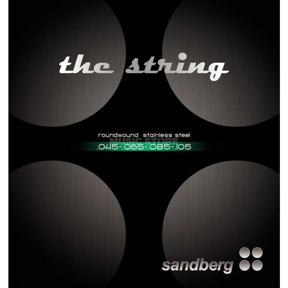 Sandberg Bass Strings 4-Set 045-105 (045-065-085-105) Изображение товара