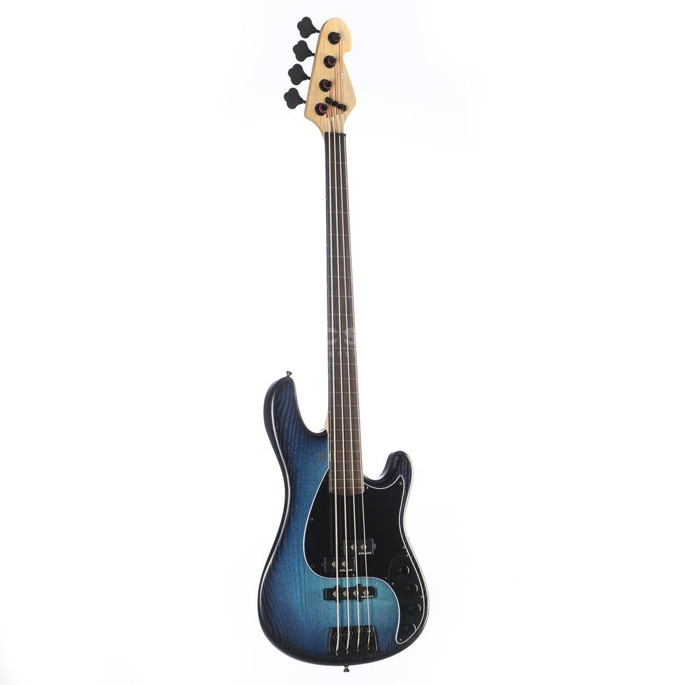 Sandberg California VT4 Fretless RW Blueburst Satin Product Image
