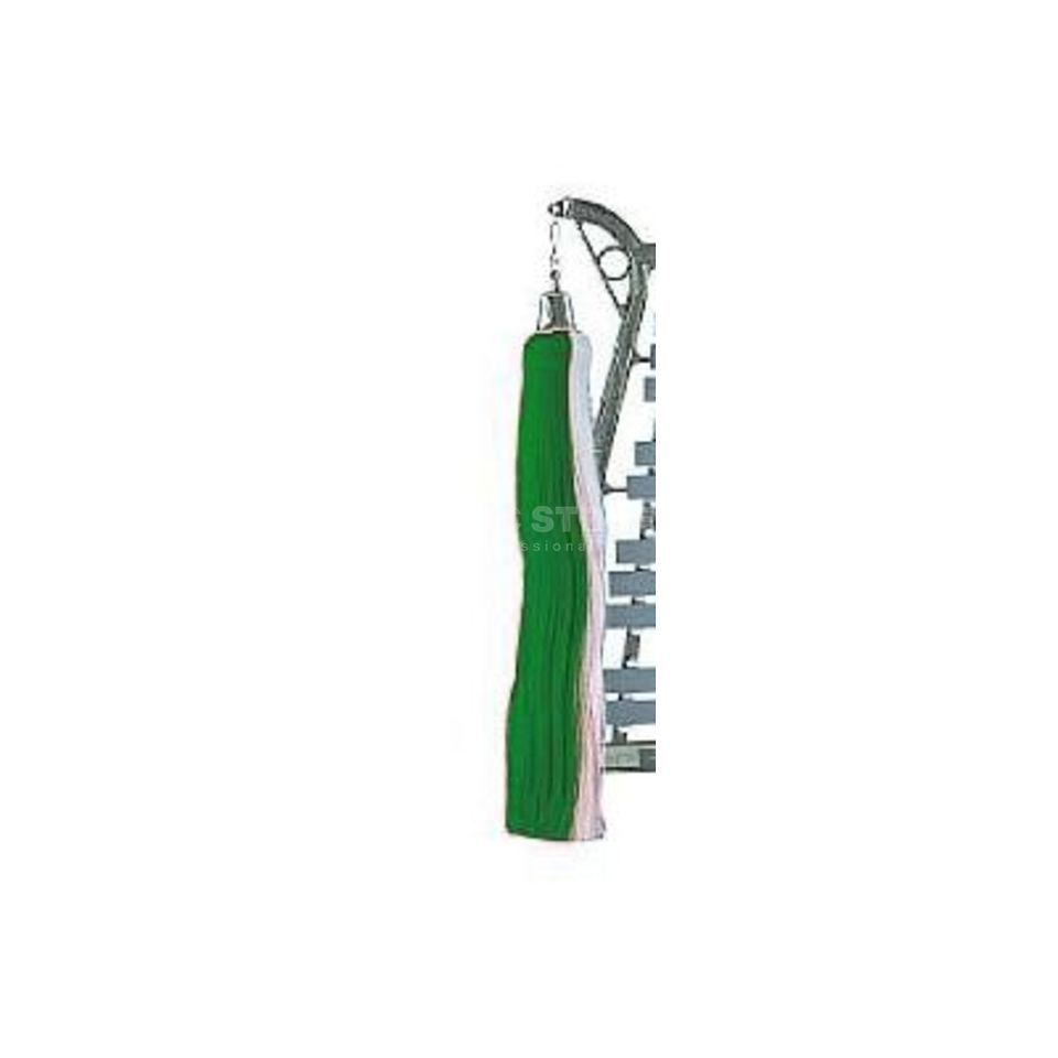 Sandner Lyra-tail green and white, chrome bells Product Image